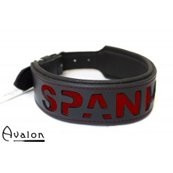 Avalon - I NEED YOU - Collar Spank Me - Svart og Rødt