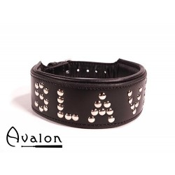 Avalon - Collar Slave - Sort