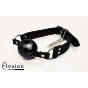 Avalon - Gag med sort ball 40 mm