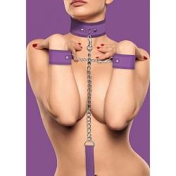 Ouch! Velcro collar og cuffs