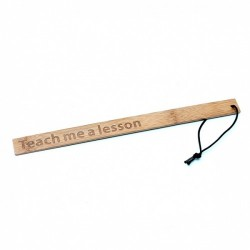 Rimba - Teach me a lesson bamboo paddle