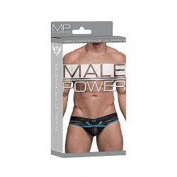 Male power - Clip Thong - String med Åpning