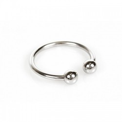 Horse Shoe Glans Ring - Penishodering med Kuler - 30 mm