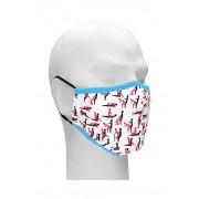 Sexy Masks - 3 lags Tøymunnbind med stillinger - Sutra - 1stk