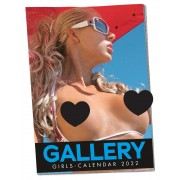 Pin-up - Soft Gallery Girls kalender - 2022