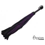 Avalon - LEON - Loop flogger i sort og lilla